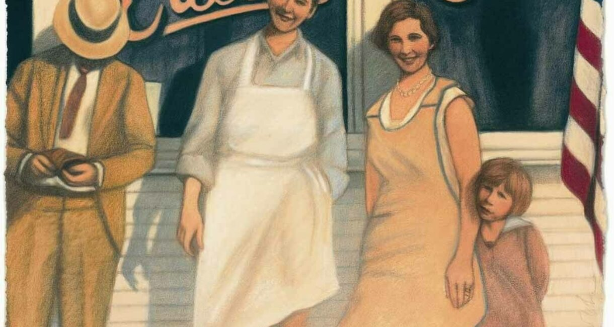 """Mary's Home Cooking,"" by Mary Groth (2003 Annual Report Cover)"