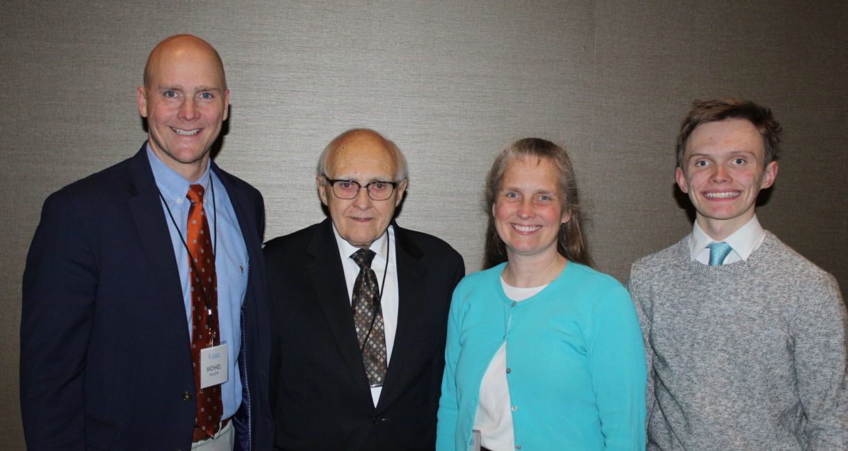 Attorney Howard Paulson is joined by his family at the 2019 Legacy Society Celebration.