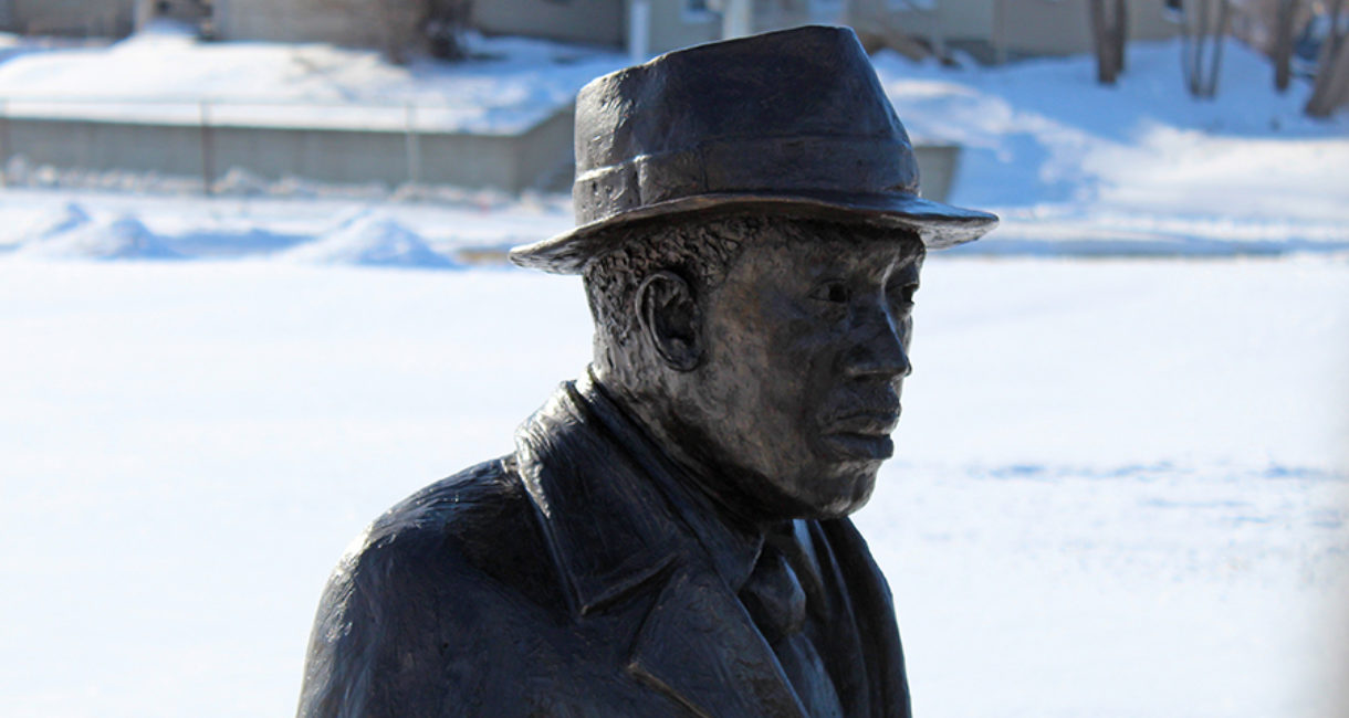 Created by local sculptor Porter Williams, the statue is located near the site of the former parsonage where Dr. King spoke when he visited Sioux Falls in January 1961.