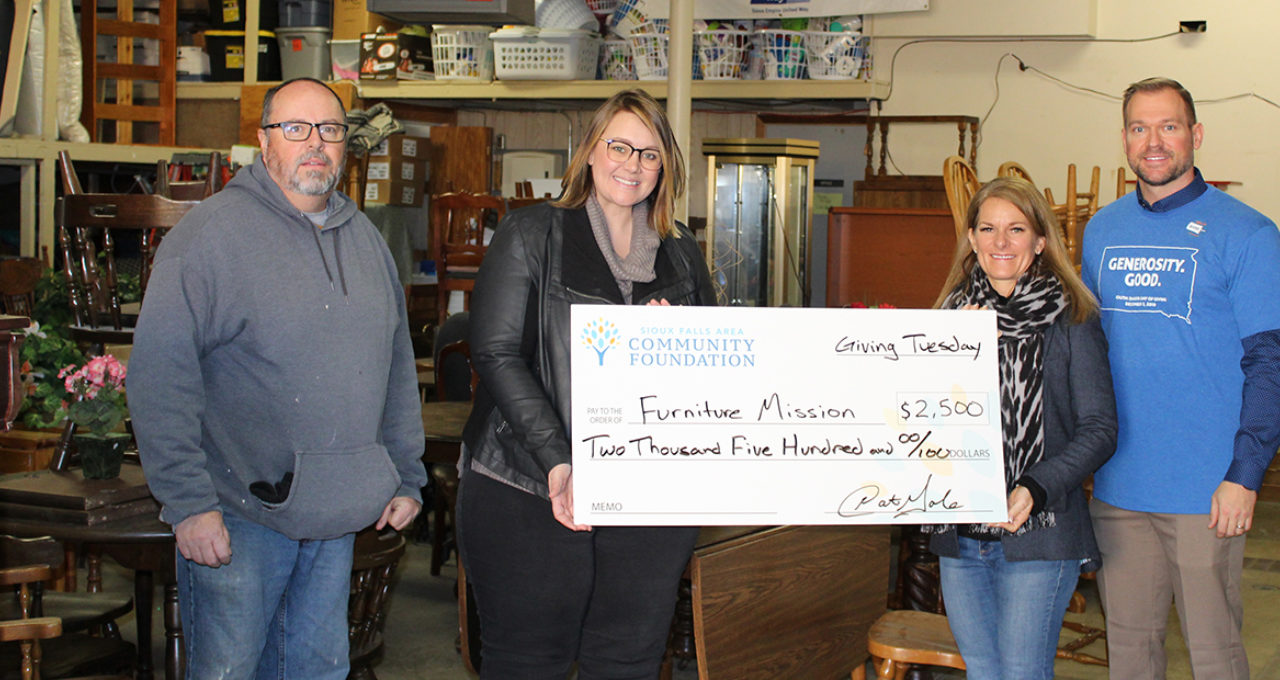 Grant to the Furniture Mission
