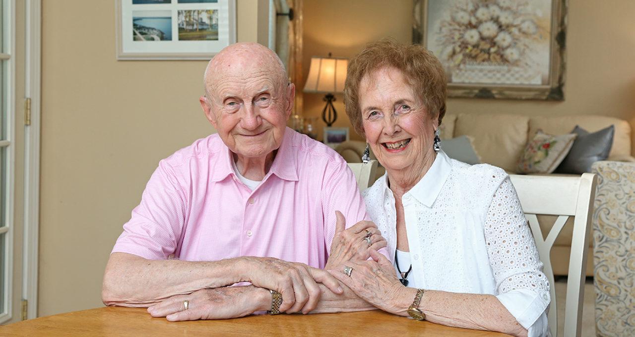 Jim and Pat Croston