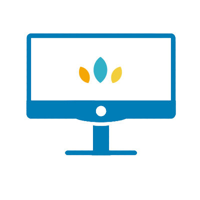computer monitor graphic