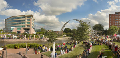 The Arc of Dreams at Riverfest 2019