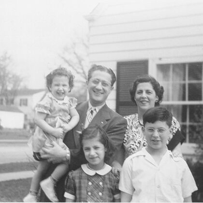 Dorothy and Louis Hurwitz family