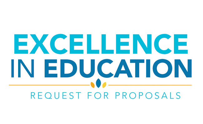 request for proposals for Excellence in Education Initiative grants