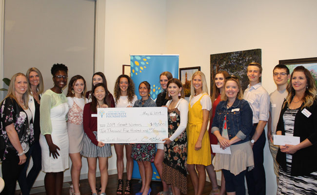 The Community Foundation's Youth Advisory Council