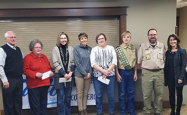 Canton community grant recipients