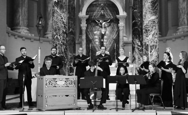 Transept, a vocal ensemble.